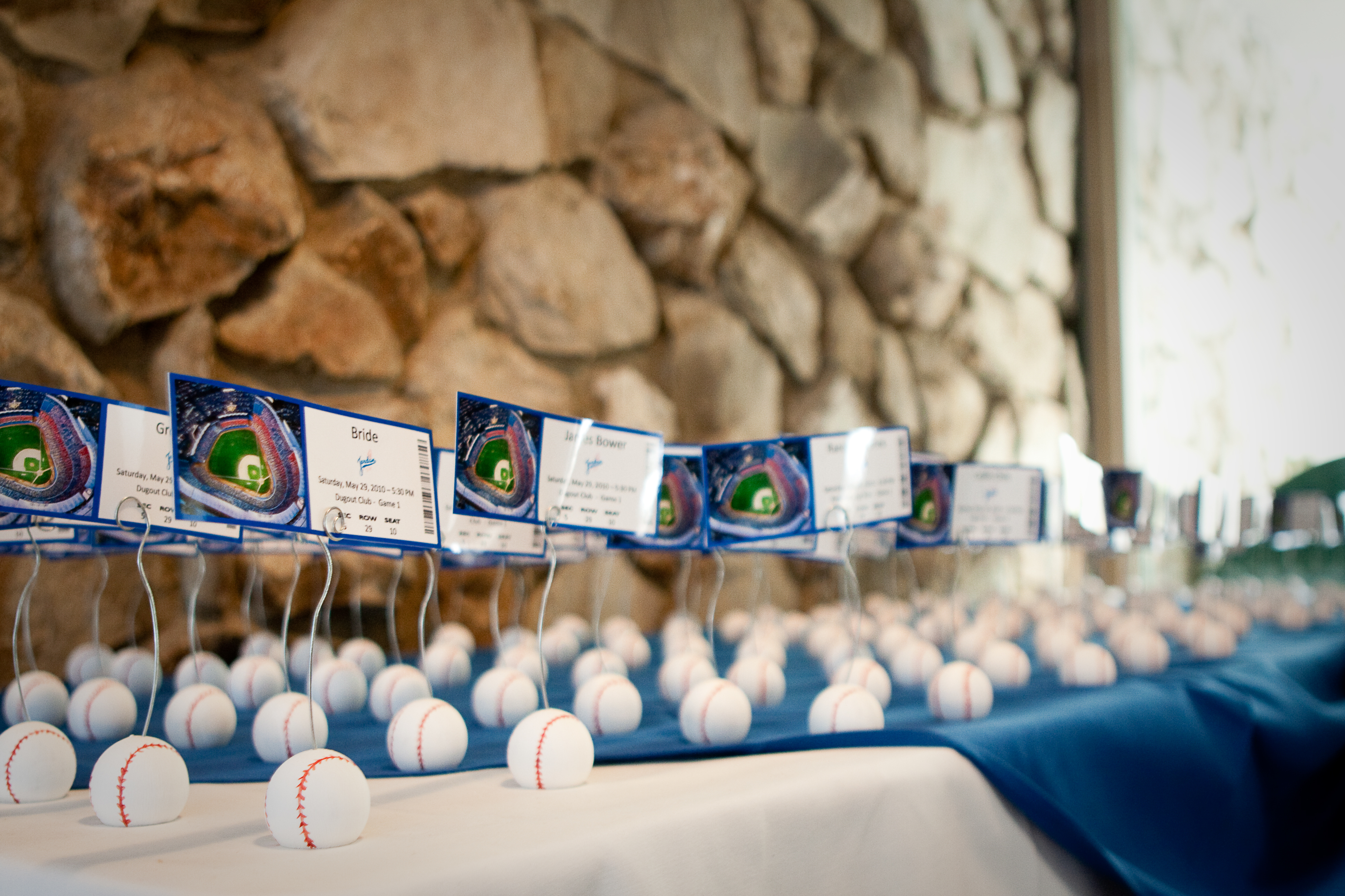 Reception, Flowers & Decor, Photography, Cards, Escort, Baseball, Hollis, Cari