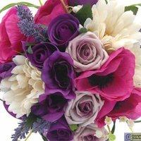 Inspiration, Flowers & Decor, purple, Bride Bouquets, Flowers, Bouquet
