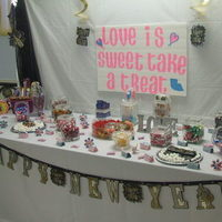 Reception, Flowers & Decor, Favors & Gifts, pink, purple, black, Favors