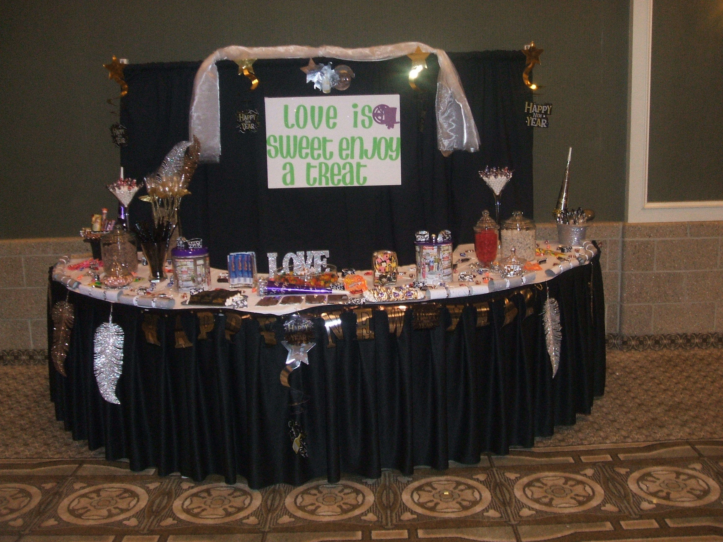 Reception, Flowers & Decor, Favors & Gifts, pink, purple, black, Favors, Wedding, Candy, Buffets, Beckie, Diva-licious, Heald