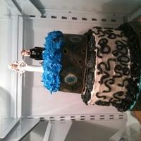 Cakes, blue, green, cake