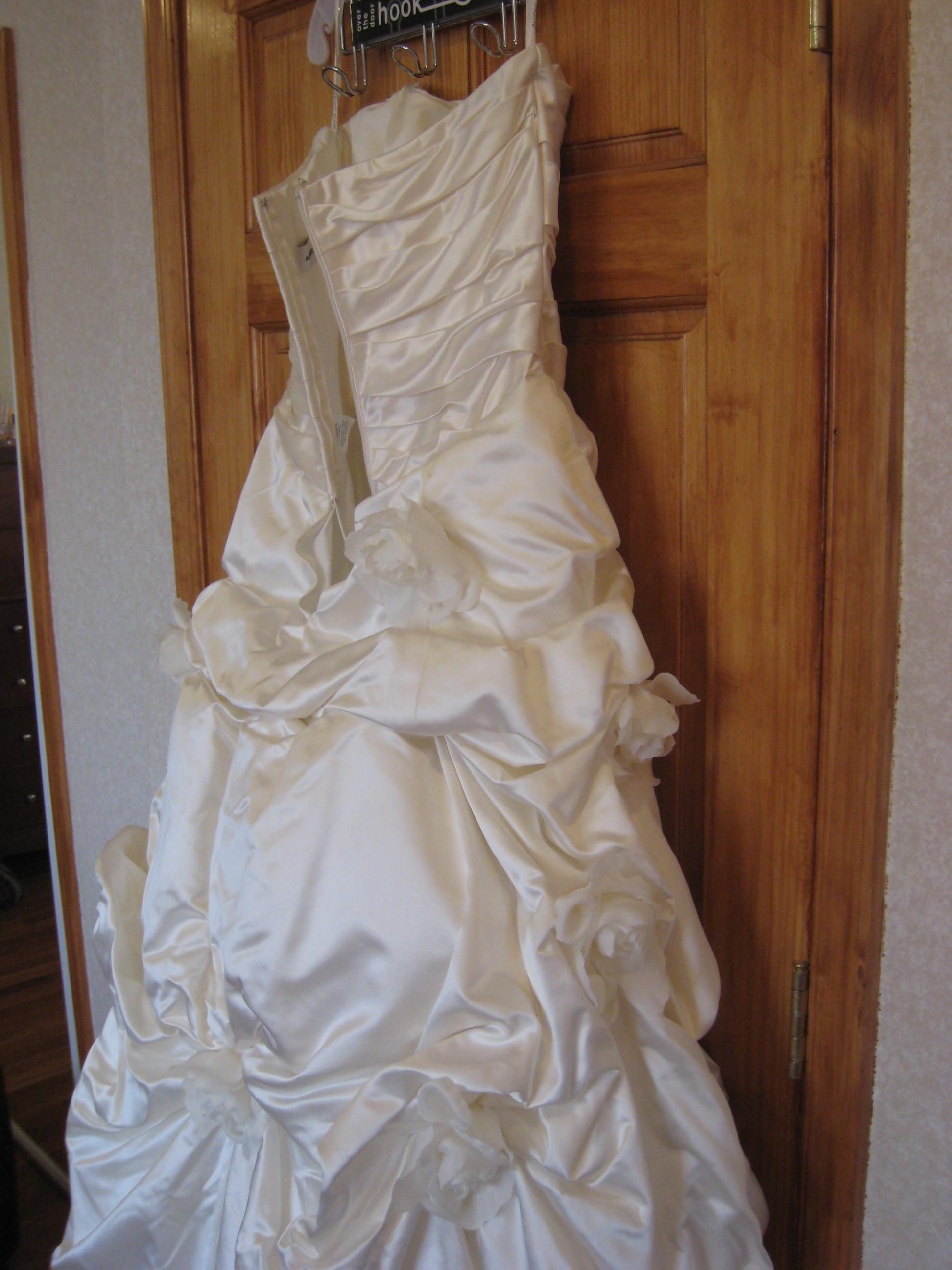 Wedding Dresses, Fashion, white, dress, Of, Back, I, Am, Selling