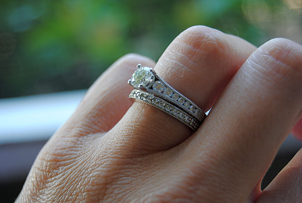 Ring, Engagement, Tacori, Blustarfruit