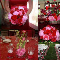 pink, red, Inspiration board