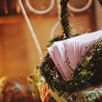 Reception, Flowers & Decor, green, brown, Flowers, Basket, Inspiration board, Moss