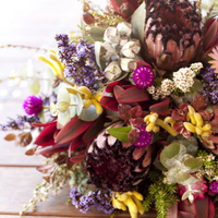 Ceremony, Reception, Flowers & Decor, orange, pink, purple, blue, green, brown, gold, Ceremony Flowers, Bride Bouquets, Flowers, Bouquet, Inspiration board