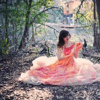 Wedding Dresses, Fashion, orange, pink, dress, Inspiration board, Ttd