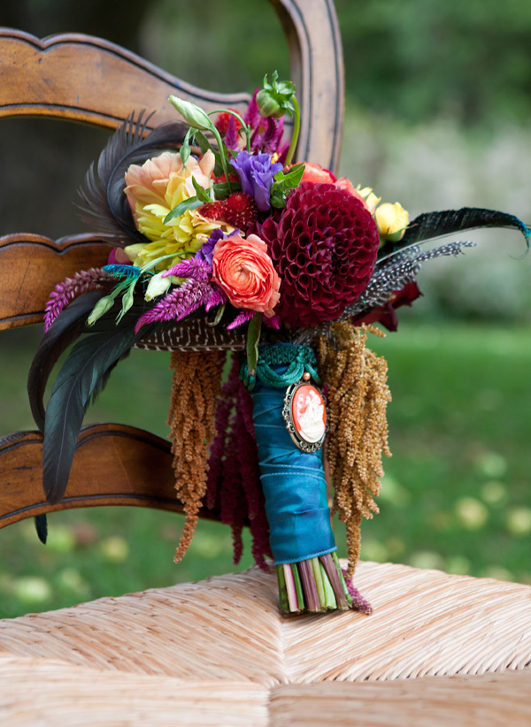 Ceremony, Reception, Flowers & Decor, orange, pink, purple, blue, green, brown, Ceremony Flowers, Bride Bouquets, Flowers, Bouquet, Inspiration board