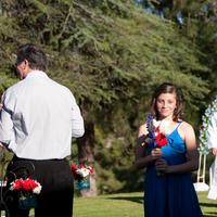 Ceremony, Flowers & Decor, Bridesmaids, Bridesmaids Dresses, Photography, Fashion, blue, Hollis, Cari