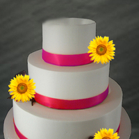 Flowers & Decor, Cakes, orange, purple, cake, Flowers, Ake