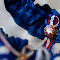 Photography, white, red, blue, Garter, Military, Marine, Hollis, Corps, Cari