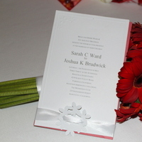 Flowers & Decor, Stationery, red, Invitations, Flowers