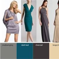 Bridesmaids, Bridesmaids Dresses, Fashion, blue, green, silver, Inspiration board