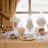 Reception, Flowers & Decor, Favors & Gifts, white, yellow, gold, Favors, Candy buffet, Inspiration board