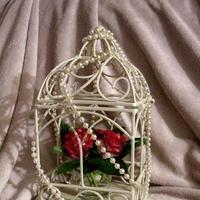 Reception, Flowers & Decor, white, pink, Cage, Card, Inspiration board
