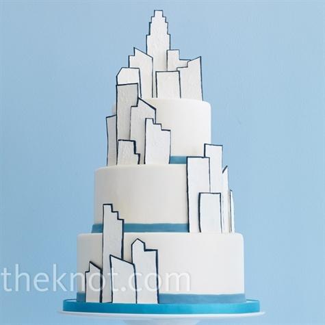 Cakes, blue, cake
