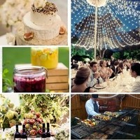 Reception, Flowers & Decor, Inspiration board