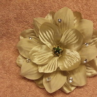 Beauty, DIY, Flowers & Decor, green, gold, Flowers, Flower, Hair, Bridal, Swarovski, By, Star, Peridots