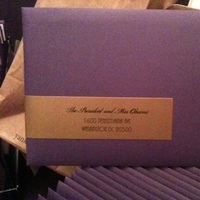 Stationery, purple, gold, Invitations