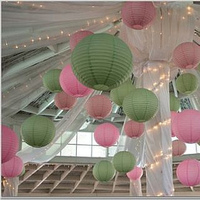 Reception, Flowers & Decor, pink, green