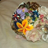 Ceremony, DIY, Flowers & Decor, Jewelry, Brooches, Ceremony Flowers, Bride Bouquets, Vintage, Flowers, Vintage Wedding Flowers & Decor, Bouquet, Brooch