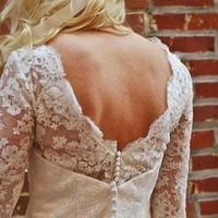 Wedding Dresses, Vintage Wedding Dresses, Fashion, white, dress, Vintage