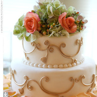 Reception, Flowers & Decor, Cakes, orange, green, cake, Flowers, Inspiration board