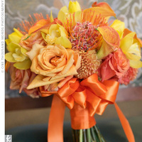 Flowers & Decor, orange, green, Flowers, Inspiration board