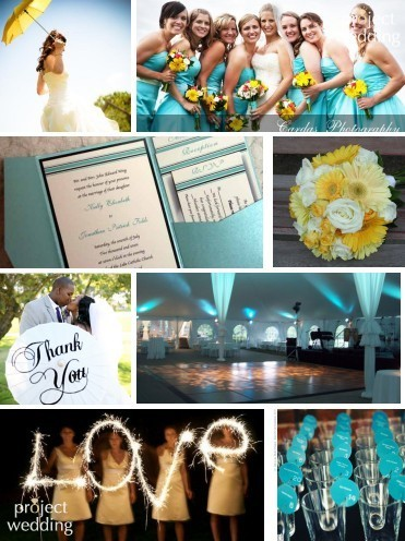 yellow, blue, Inspiration board