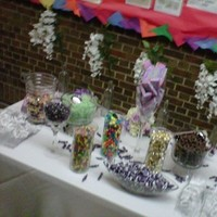 Ceremony, Reception, Flowers & Decor, Favors & Gifts, white, purple, blue, silver, Favors, Candy, Buffet, Inspiration board