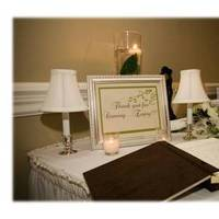 Ceremony, Flowers & Decor, white, green, brown, black, silver, gold, Inspiration board