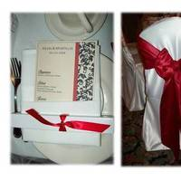 Ceremony, Reception, Flowers & Decor, white, red, silver, gold, Inspiration board