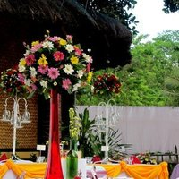 Reception, Flowers & Decor, Favors & Gifts, white, yellow, orange, pink, red, green, gold, Favors, Flowers, Inspiration board