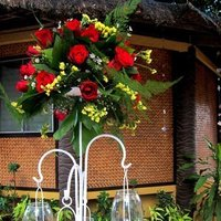 Reception, Flowers & Decor, white, yellow, red, green, Inspiration board