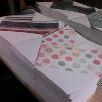 Stationery, white, yellow, orange, pink, red, purple, blue, green, brown, black, silver, gold, Invitations