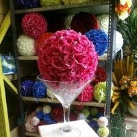 Flowers & Decor, Centerpieces, Flowers, Centerpiece, Vase, Glass