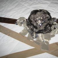 Ceremony, Reception, Flowers & Decor, Jewelry, blue, brown, silver