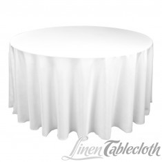 Reception, Flowers & Decor, white, Round, Table, Linen, Cloth, 120