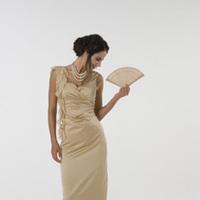 Bridesmaids, Bridesmaids Dresses, Wedding Dresses, Fashion, gold, dress, Of, Maid, Honour