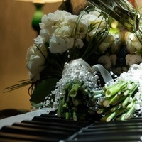 Flowers & Decor, white, black, Flowers, Inspiration board