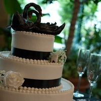 Cakes, white, black, cake, Inspiration board