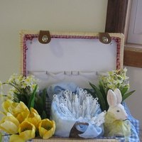 Ceremony, Flowers & Decor, Favors & Gifts, yellow, blue, Favors