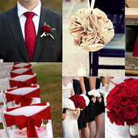 Ceremony, Flowers & Decor, red, Inspiration board