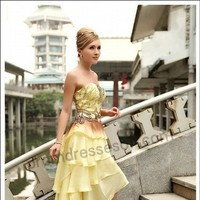 Reception, Flowers & Decor, Bridesmaids, Bridesmaids Dresses, Wedding Dresses, Fashion, yellow, gold, dress