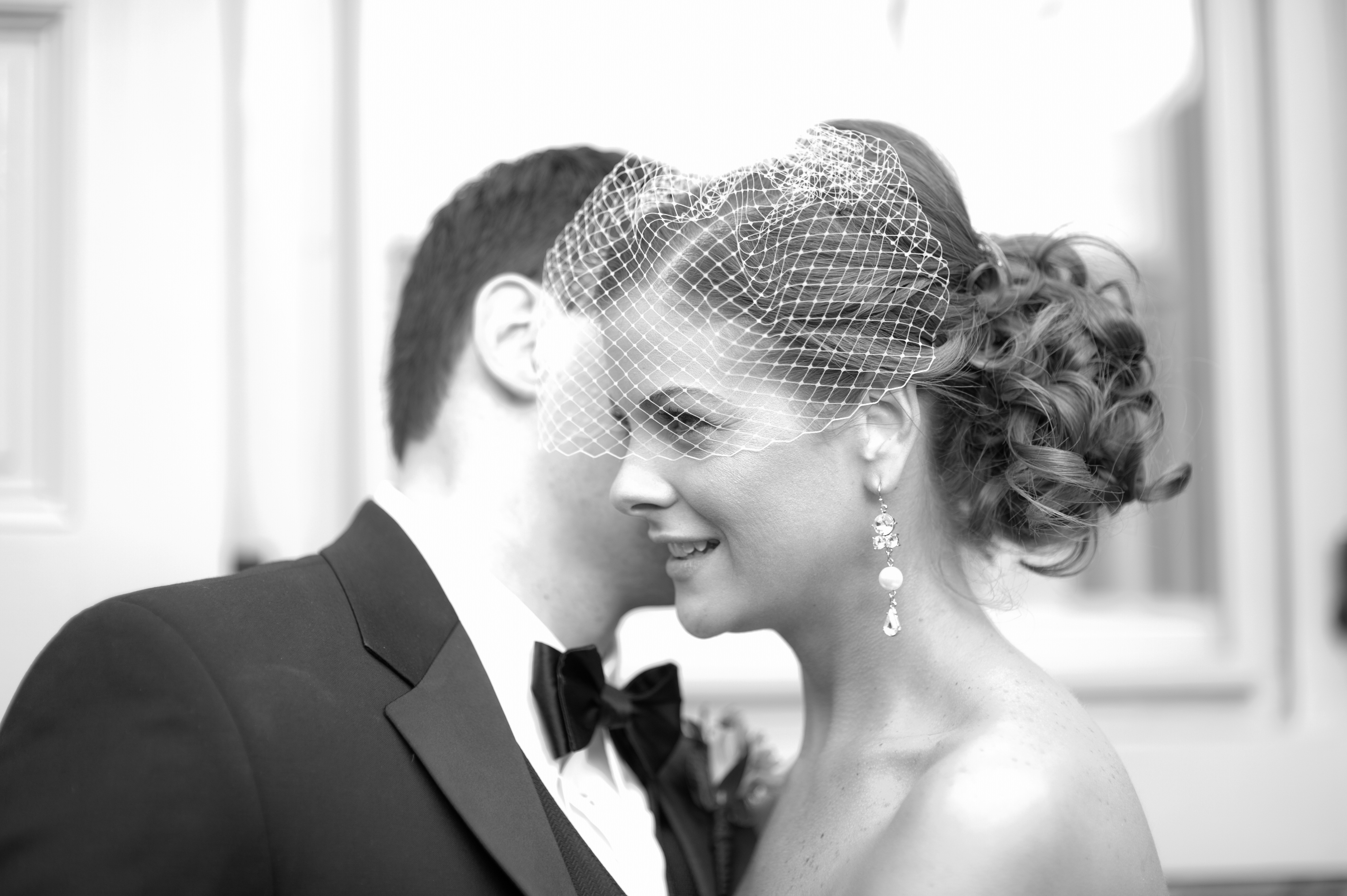 Beauty, Bride, Hair, Birdcage, Vail