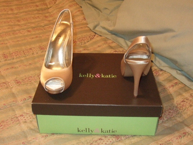 Shoes, Fashion, ivory, gold, And, Champagne, Satin, Kelly, Katie, satin wedding dresses