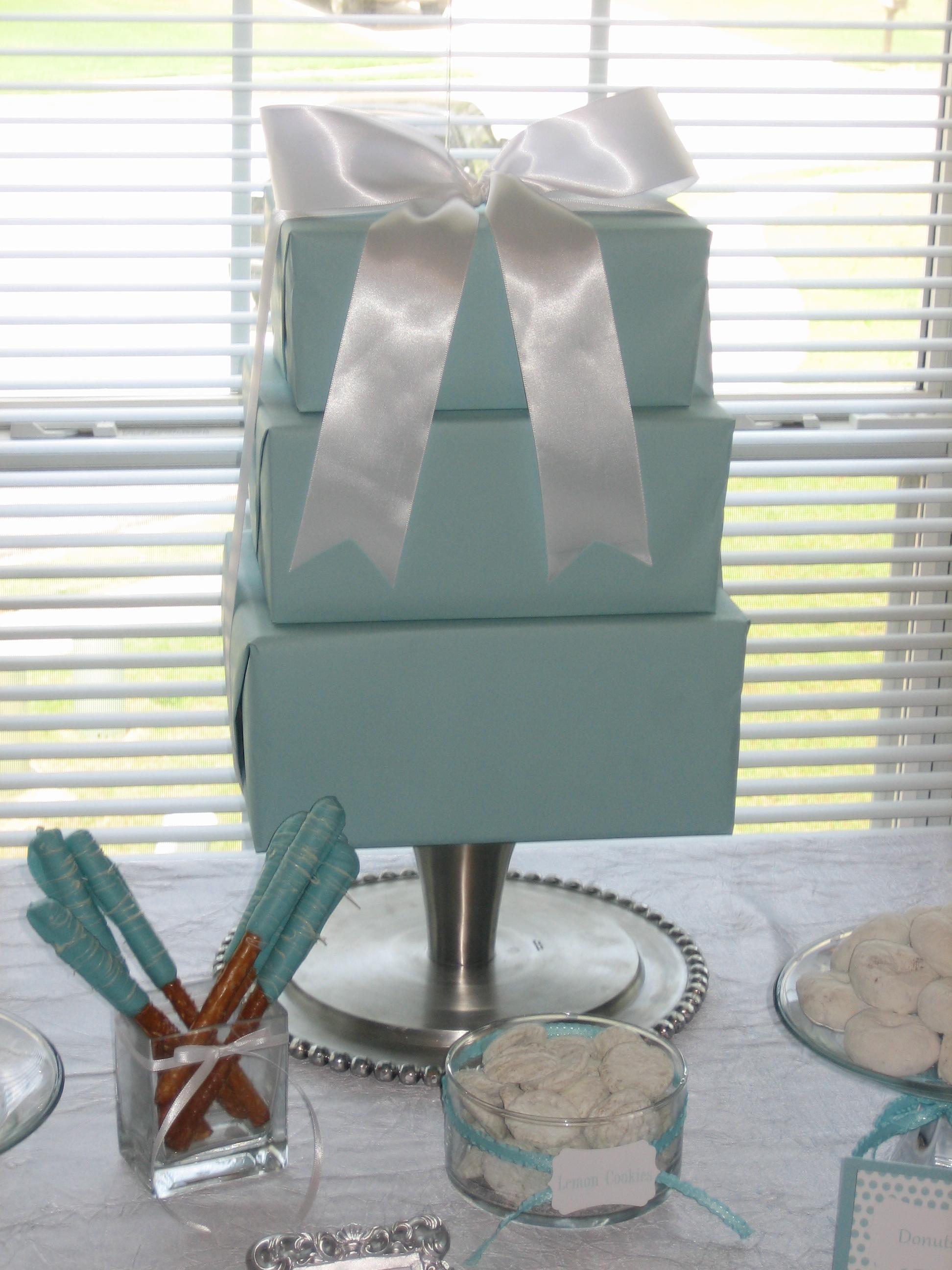 Flowers & Decor, Decor, blue, Cupcakes, Dessert, Aqua, Bar, Shower, Tiffanys