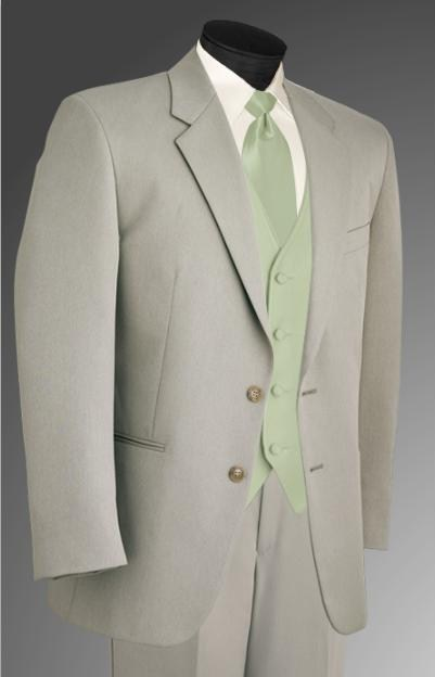 Ceremony, Flowers & Decor, Fashion, green, Men's Formal Wear, Tuxedo, Tan