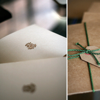 DIY, green, brown, gold, Cards, Wedding, You, Thank, Budget