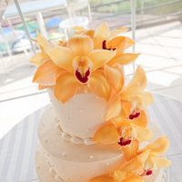 Flowers & Decor, Cakes, yellow, cake, Flowers